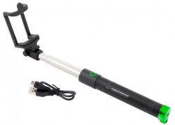 Esperanza EMM121KG selfie tyč, čierno-zelená