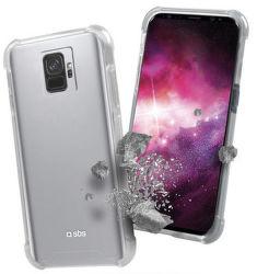 SBS Hard Shock puzdro pre Galaxy S9, transparentné