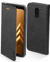 SBS Elegance knižkové puzdro pre Samsung Galaxy A8 Plus 2018, čierna