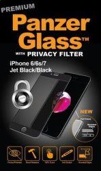 PanzerGlass Premium Privacy tvrdené sklo pre iPhone 7/6/6s, čierne