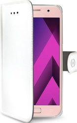Celly Wally knižkové puzdro pre Samsung Galaxy A3 2017, biela