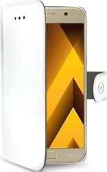 Celly Wally knižkové puzdro pre Samsung Galaxy A5 2017, biela