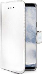 Celly Wally knižkové puzdro pre Samsung Galaxy S9, biela