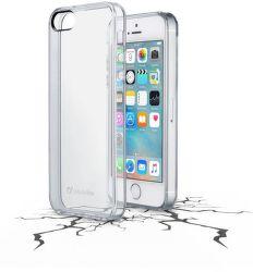 Cellular Line Clear Duo puzdro pre iPhone 5S/SE, transparentné
