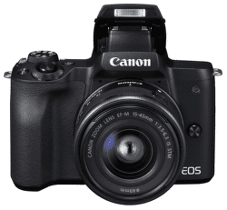 Canon EOS M50 čierny + EF-M 15-45mm IS + EF-M 22mm