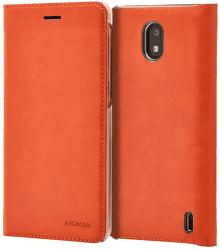 Nokia Slim flipové puzdro pre Nokia 2, medená