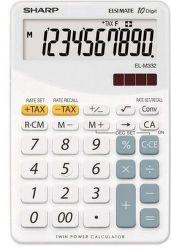 Sharp EL-M332BWH (biela) - Stolová kalkulačka