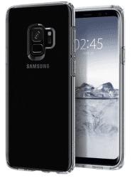 Spigen Liquid Crystal puzdro pre Samsung Galaxy S9, transparentné