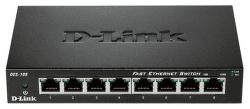 D-Link DES-108 - 100Mb 8-LAN switch
