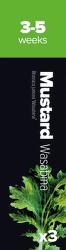 Plantui Mustard Wasabi Hořčica indická (3ks)