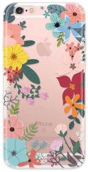 4-OK Cover 4U puzdro pre iPhone 6/6S, motív kvetov