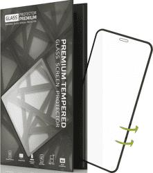 TGP tvrdené sklo pre Apple iPhone X, čierne