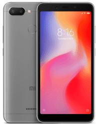 Xiaomi Redmi 6 32 GB sivý