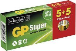 GP Super Alk AAA 5+5 Batérie