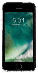 Xqisit Mitico Bumper TPU puzdro pre iPhone SE/5S/5, čierna