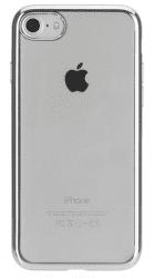 Xqisit Flex Case Chromed Edge puzdro pre iPhone 8/7/6S/6, strieborná