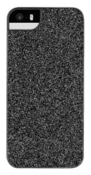Flavr iPlate Glamour puzdro pre iPhone SE/5S/5, čierna
