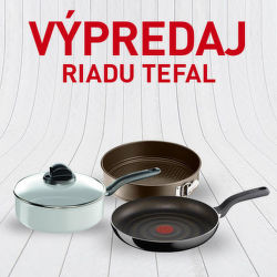 Výpredaj riadu Tefal