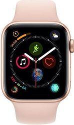 Apple Watch Series 4 40mm zlatý hliník/ružový športový remienok