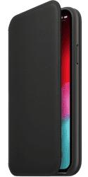 Apple kožené puzdro Folio pre Apple iPhone XS, čierna
