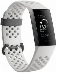 Fitbit Charge 3 Special Edition (NFC) čierny s bielým remienkom