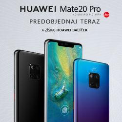 Prijímame predobjednávky na Huawei Mate20 Pro