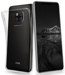 SBS Skinny puzdro pre Huawei Mate 20 Pro, transparentné