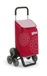 Gimi 154313 Tris Floral nákupný vozík (56L)