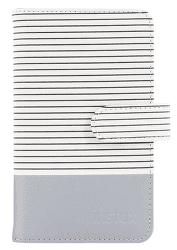 Fujifilm Instax Striped Mini 9 album, dymovo biela