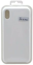 Mobilnet silikónové puzdro pre Apple iPhone Xs Max, biela