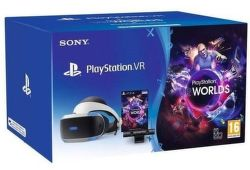 Sony PS4 PlayStation VR v2 + Camera v2 + VR Worlds