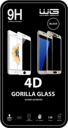 Winner 4D ochranné tvrdené sklo pre iPhone X/XS/11 Pro, čierna
