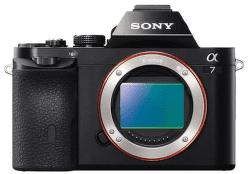 Sony Alpha A7 telo