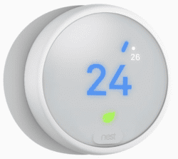 Nest Thermostat E izbový termostat