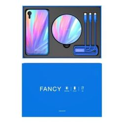 Nillkin Fancy set pre Apple iPhone Xr, modrá
