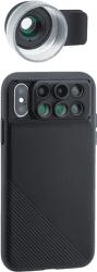 ShiftCam 2.0 Pro Lens + makro objektív Pro Lens pre iPhone X, čierna
