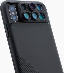 ShiftCam 2.0 6v1 cestovný set pre Apple iPhone X, čierna
