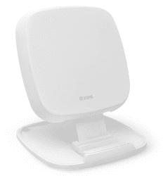 Zens Fast Charge stojančeková bezdrôtová nabíjačka 10 W, biela