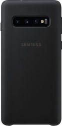 Samsung silikónové puzdro pre Samsung Galaxy S10+, čierna