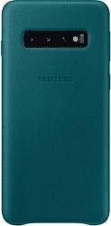Samsung Leather Cover pre Samsung Galaxy S10, zelená