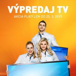 Výpredaj TV