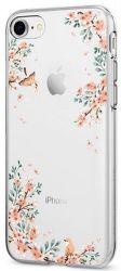 Spigen Liquid Crystal puzdo pre iPhone 7/8, kvety