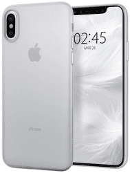 Spigen Air Skin puzdro pre Apple iPhone X/Xs, transparentná