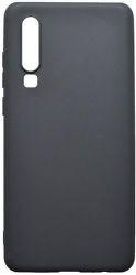 Mobilnet gumené puzdro pre Huawei P30, čierna