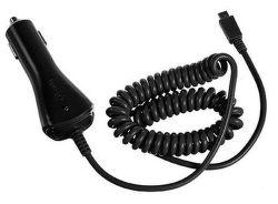 CELLY CL autonabíjačka s konektorom microUSB, 1A, čierna