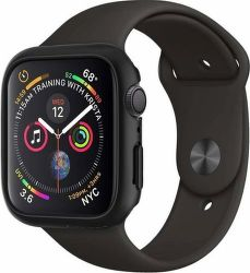 Spigen Thin Fit kryt pre Apple Watch Series 4, čierna