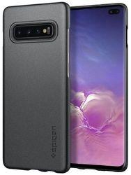 Spigen Thin Fit puzdro pre Samsung Galaxy S10+, sivá