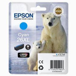 EPSON T2632 26XL cyan (ľadový medveď) - atrament