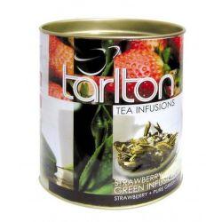 Tarlton sypaný zelený jahodový čaj (100g)