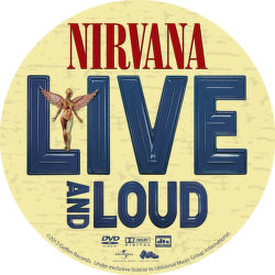 DVD H - NIRVANA - LIVE & LOUD